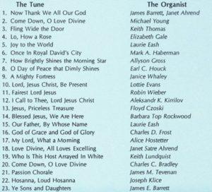 CD Listing